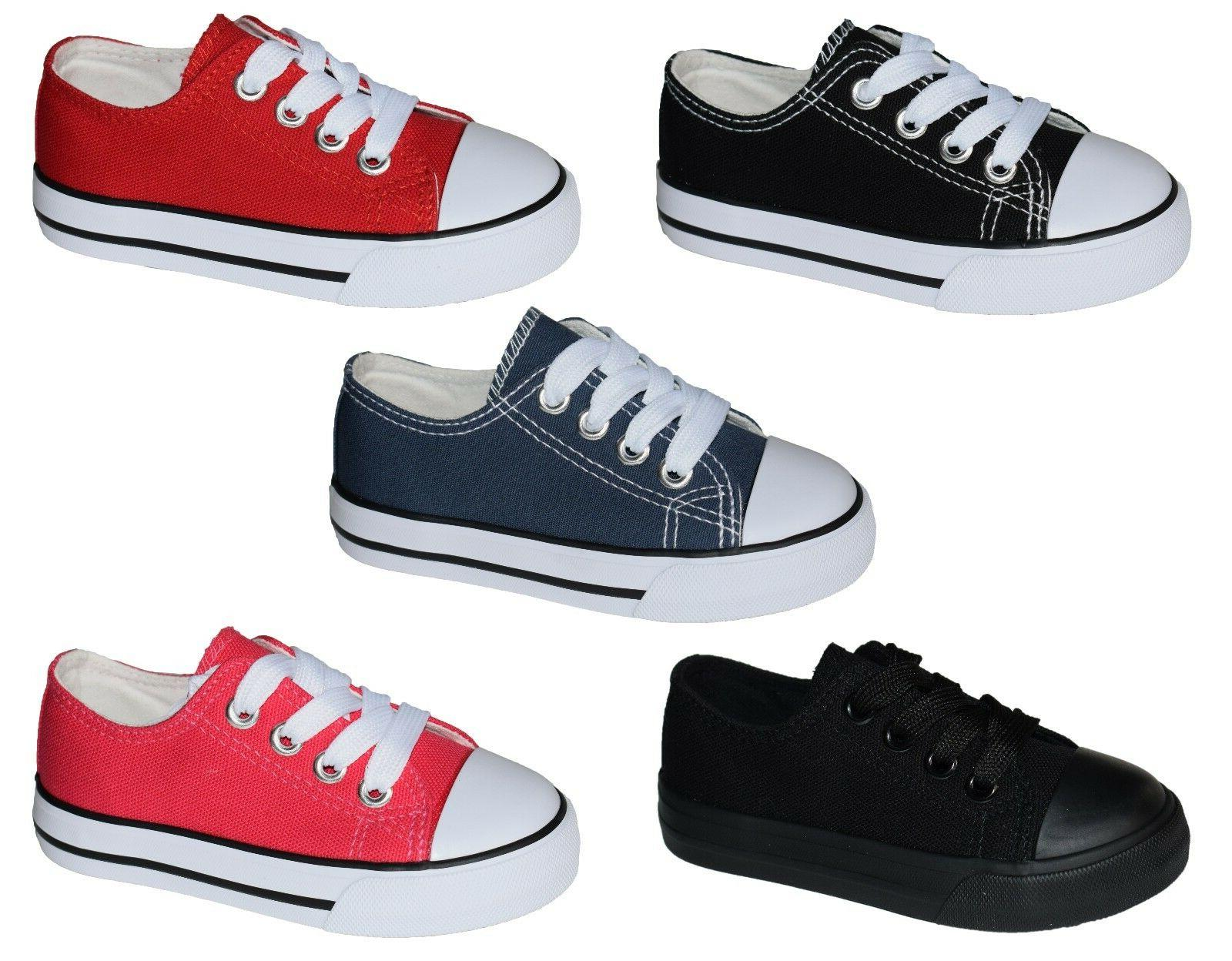New Girls Classic Tennis Shoes Skater Sneakers