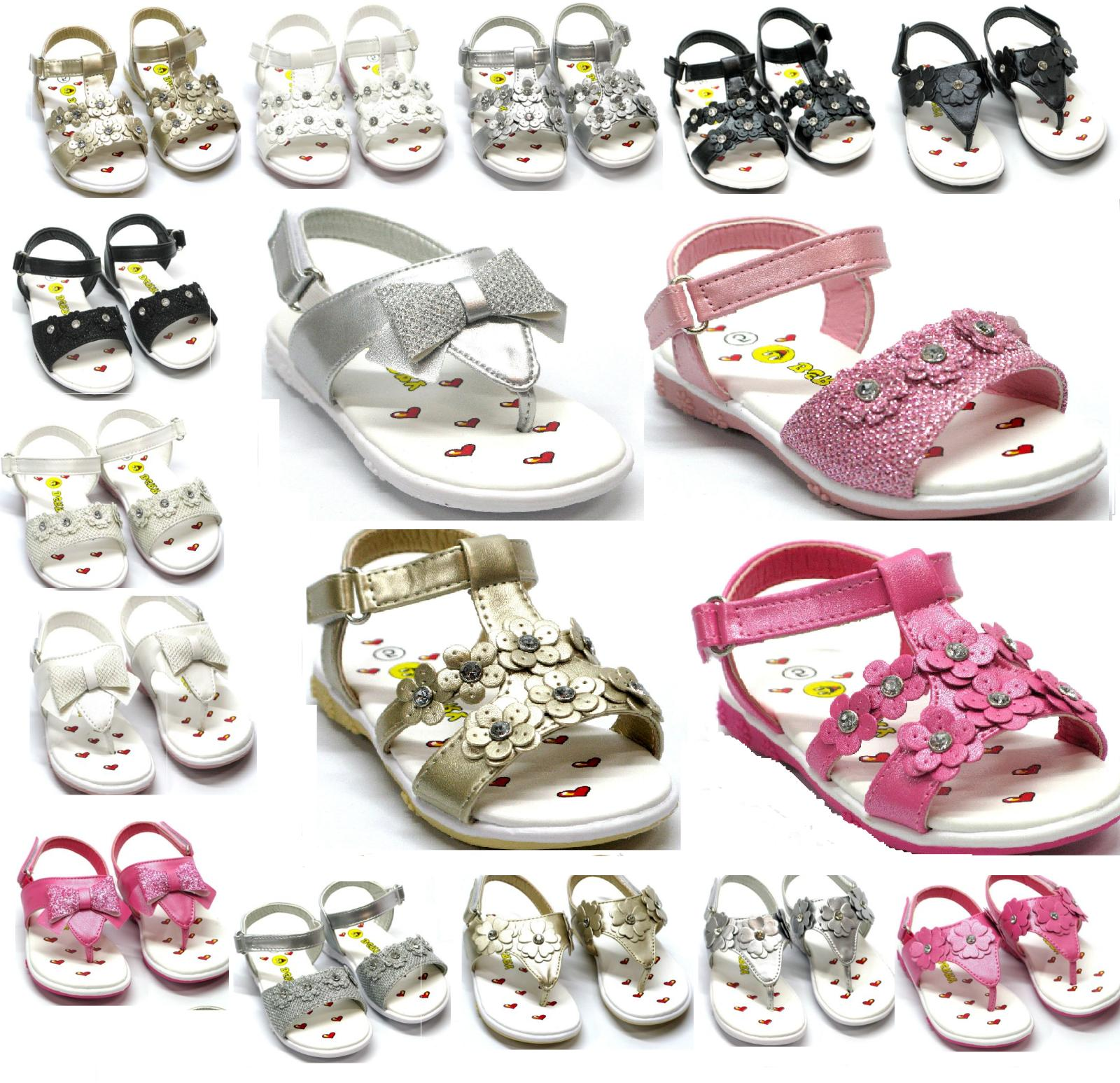 New Baby And Kids Sandals Gladiator T strap Flip Flop Shoes