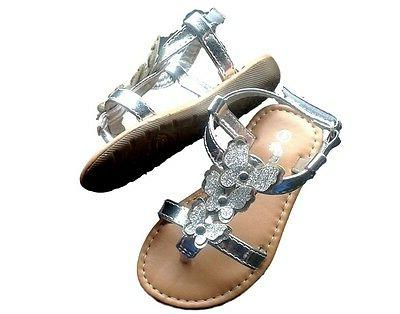 New Toddler Silver Shoes Sz 5