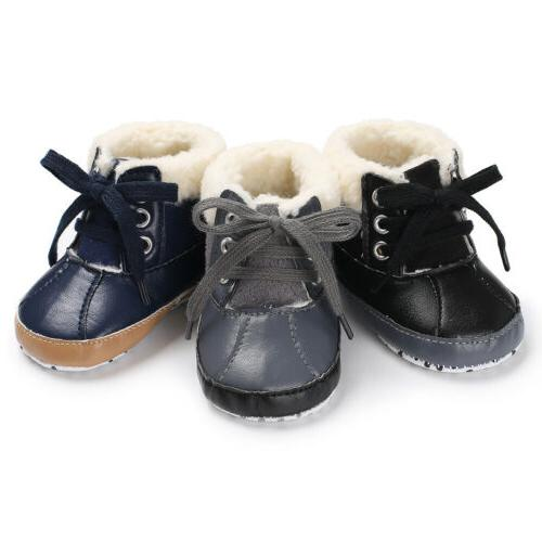 Soft Sole Warm Boots 0-18M