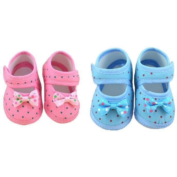 Newborn Sole Anti-slip Sneaker Prewalker 0-10M