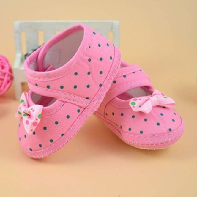 Sole Crib Shoes Bowknot
