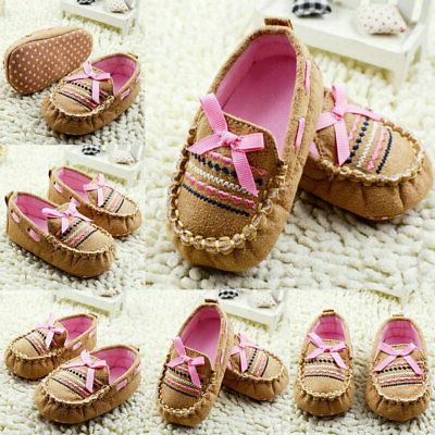 Newborn Bowknot Casual Shoes Sole