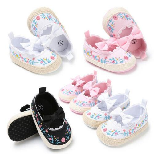newborn baby infant girl crib shoes soft
