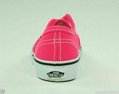 Vans Shoes Authentic Girls Infants Baby Toddler Pink Canvas Sneaker