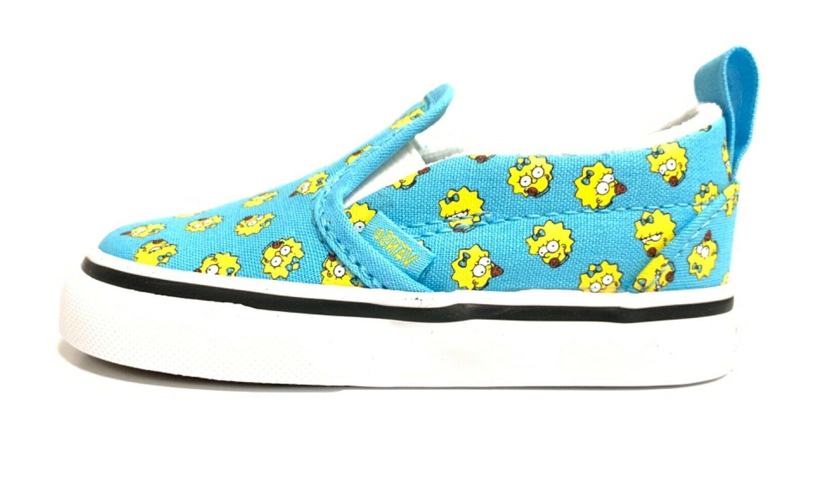 the simpsons baby shoes slip on v