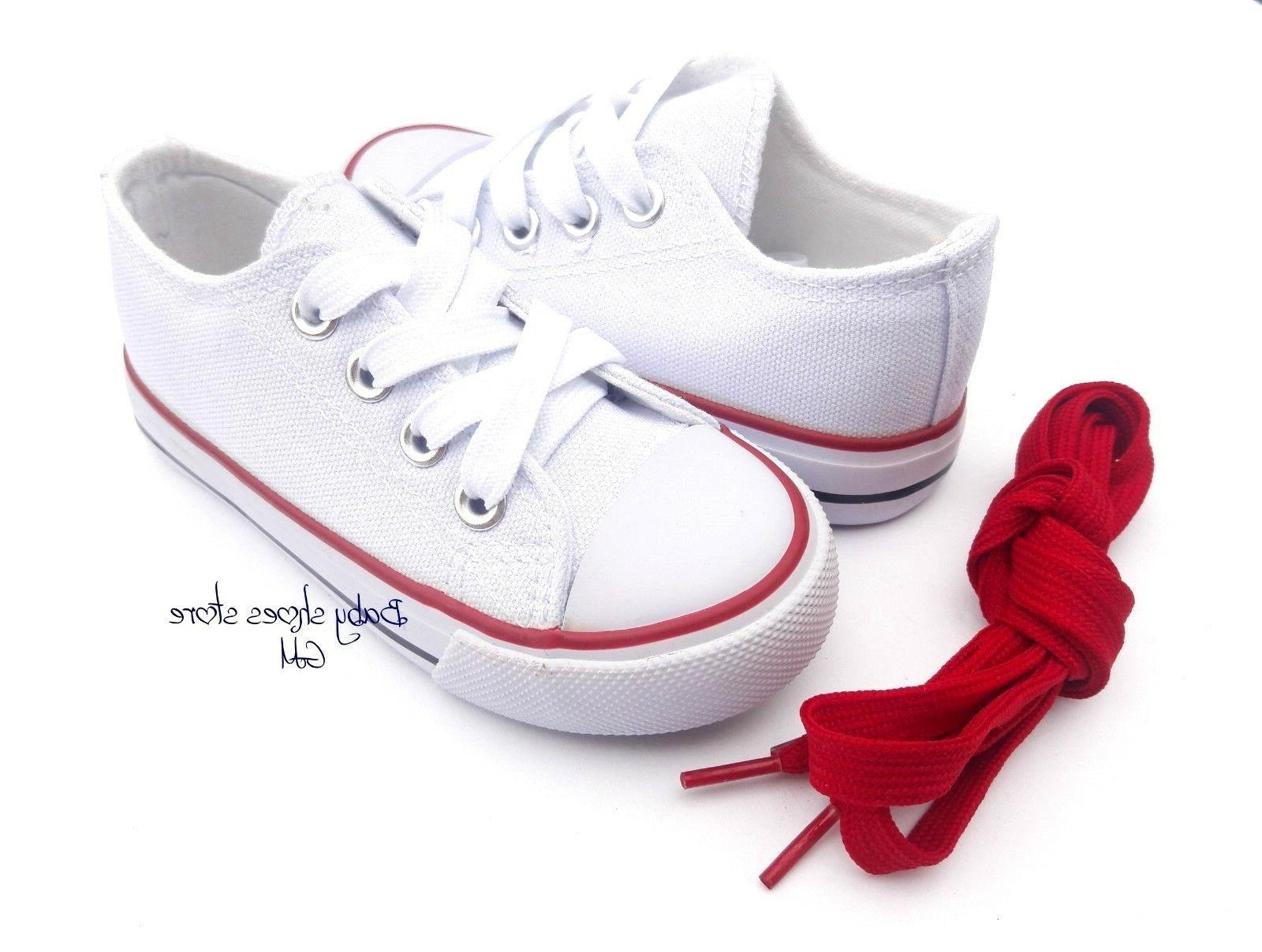 Toddler kids boys girls low shoes new
