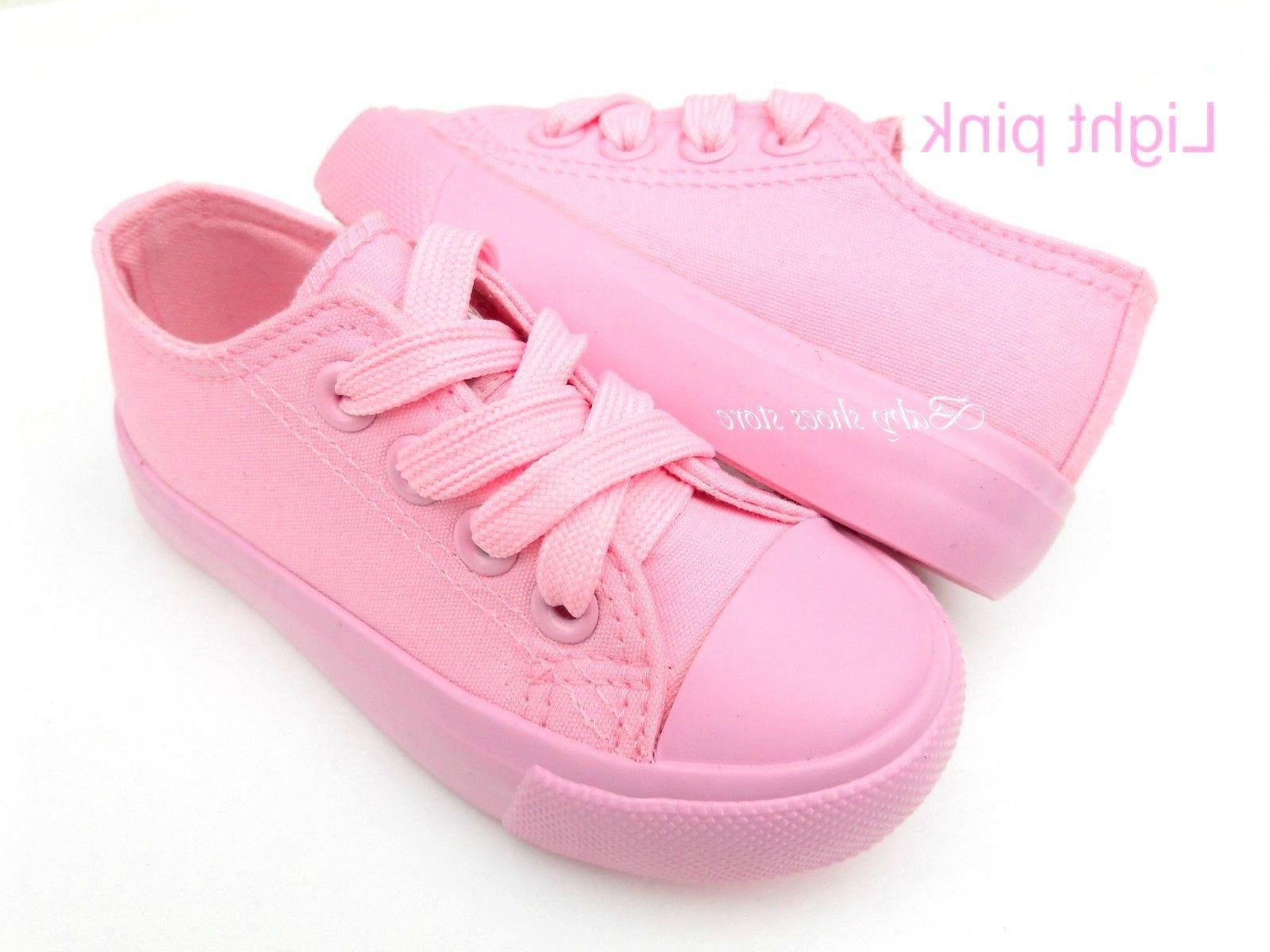 Toddler boys girls canvas shoes