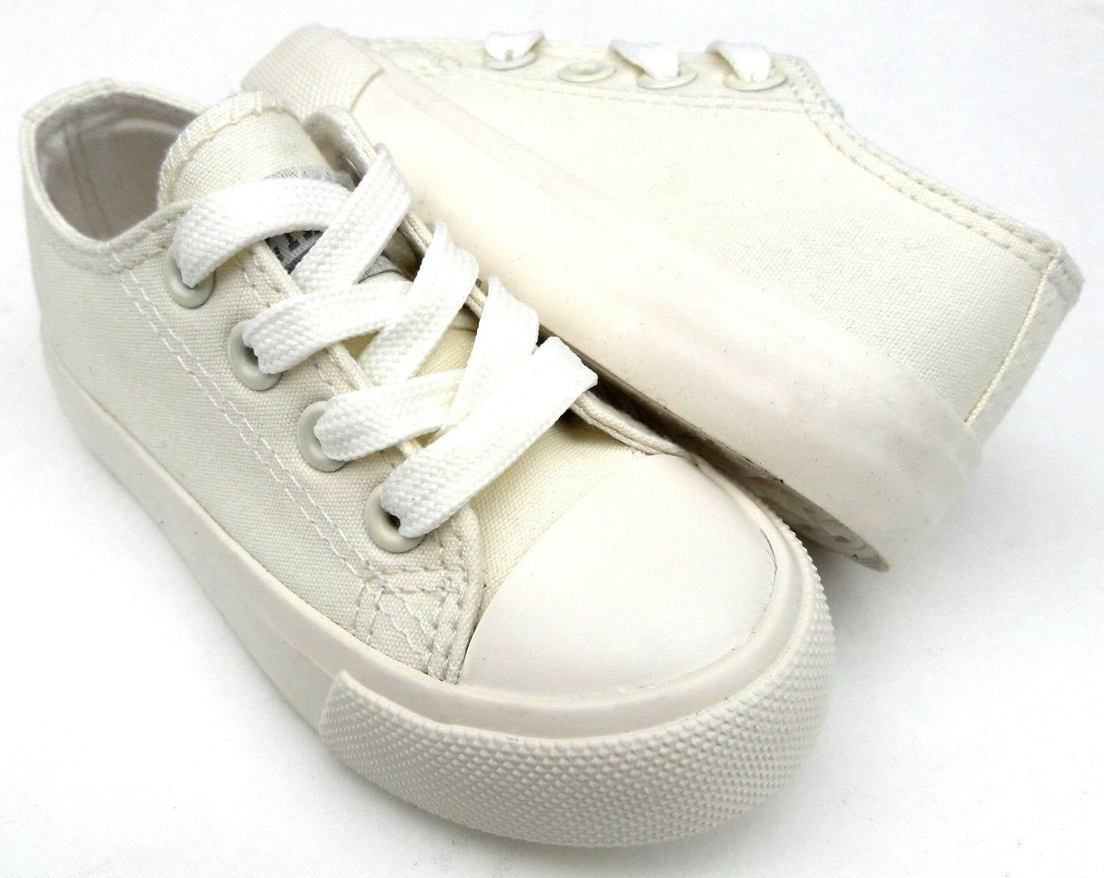Toddler canvas shoes 6-10 NEW
