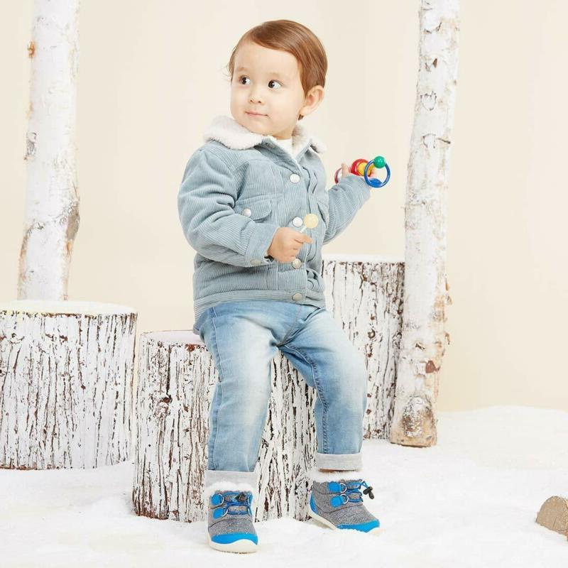 Bmcitybm Boots Boys Cold Weather Baby Shoes