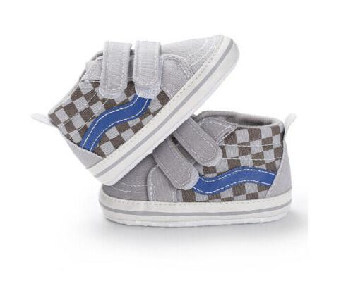 Fashion Boys Baby Canvas First Shoes Non-slip