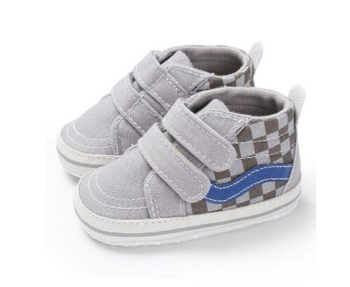 Fashion Boys Baby Canvas Walking Casual Shoes