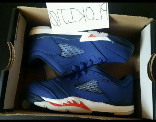 5 Retro Low TD Royal Toddler 314340-417