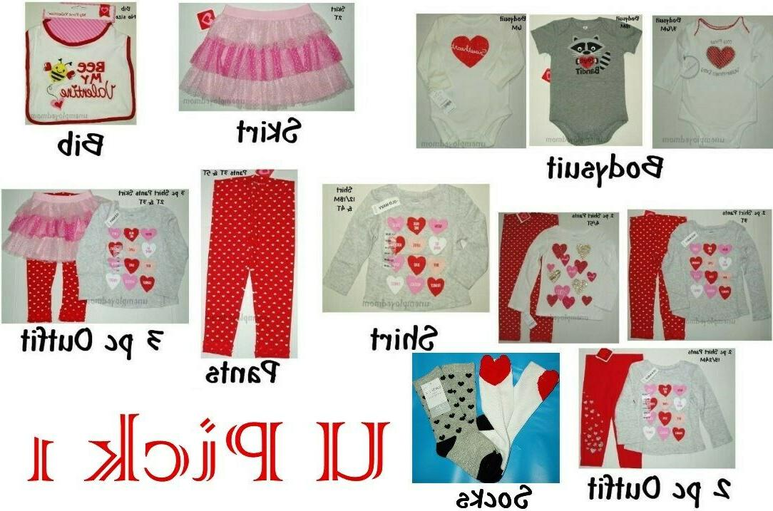 valentines day 1st outfit holiday heart bodysuit