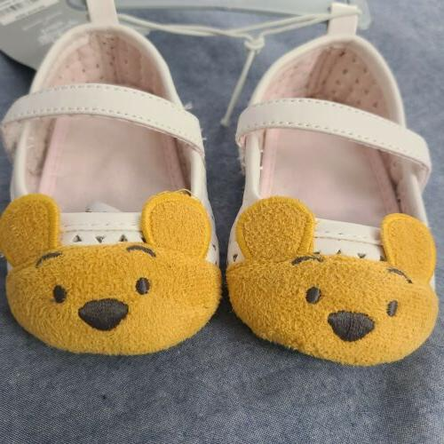 winnie the pooh classic infant baby shoes