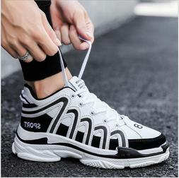 Men's Sneakers Fashion Running Casual Athletic Walking Breat