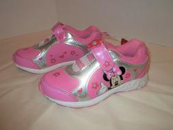 Disney Minnie Mouse Girls Athletic Shoes-5-Pink-Baby-Toddler