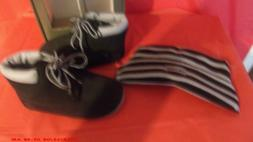 new Baby Timberland Crib With Hat Bootie Infant/ black size