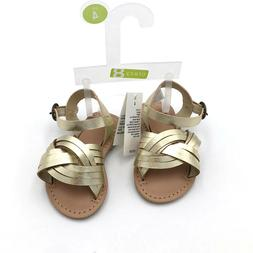 New Crazy 8 Baby Girls Flat Ankle Strap Open Toe Sandals Sho