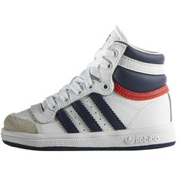 New Baby Adidas Originals Top Ten High Toddler Shoes  White/