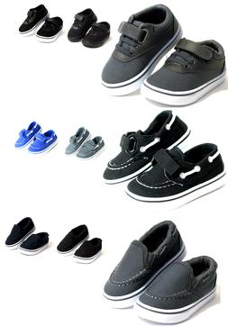 New Baby Toddler Boy Or Girls Casual Canvas Shoes Loafers -