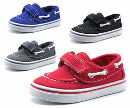 New Baby Toddler Boys Girls Casual Canvas Boat Shoes Loafers
