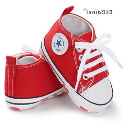 New Canvas Baby Sneaker Sport Shoes For Girls Boys Newborn S