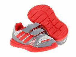 NEW ADIDAS FLUID CONVERSION CF GRAY/RED Baby Girl RUNNING AT