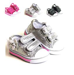 New Infant And Baby Toddler Girls Slip On Dress Shoes 3 Colo