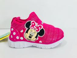 *New* Disney Minnie Mouse Pink Light Up Baby/Toddler Shoes M