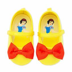 NEW Disney Store Snow White Baby Costume Shoes 0-6M Yellow