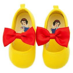new snow white baby costume shoes yellow