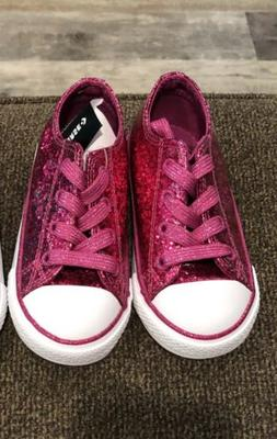 new toddler girls shoes fuchsia pink sparkle