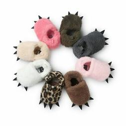 Newborn Baby Boys Girls Winter Shoes Slippers Shoes Casual B