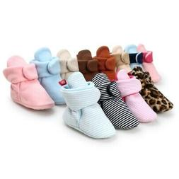 Newborn Baby Warm Crib Shoes Booties Infant Boy Girl Boots P