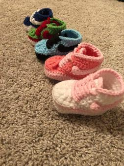 Baby Shoes, Baby Sneakers, Baby Crochet, Newborn Shoes, Infa