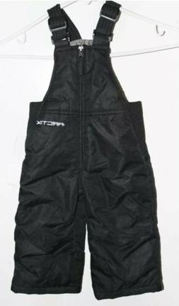 NWT black Arctix infant toddler insulated overalls pants bib