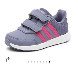 NWT Adidas Girls VS SWITCH 2 CMF Infants Kids Shoes Casual F