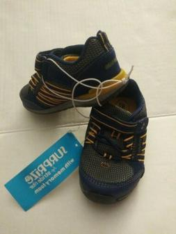 NWT Surprise by Stride Rite Baby Toddler Boy's Size 4 Sneake