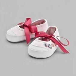 NWT Disney Winnie Pooh INFANT Shoe for Baby PINK Pink #LAST