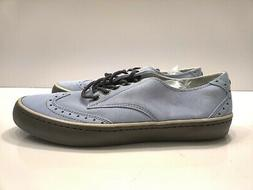 Original Penguin Men's Shoes Baby Blue Suede Espy Wingtip Fa