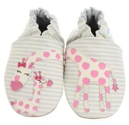 """Robeez """" REACH FOR THE STARS """"  Soft Sole Infant Leather Sho"""