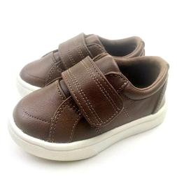 Size 4 Boys shoes Baby toddlers brown footwear children kids