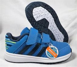 ADIDAS SNICE 4 CF BLUE/GREEN BOYS/GIRLS BABY/TODDLER SHOES S