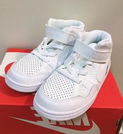 Nike Son of Force Mid  White Toddler Boy's Shoes - Asst Size