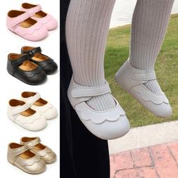 Summer Baby Girl Soft Crib Shoes Princess Leather First Walk