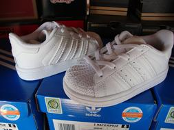 Adidas Superstar I White for Baby and Toddlers