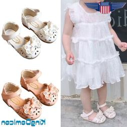 Toddler Baby Girls Princess Shoes Infants Casual Summer Bow