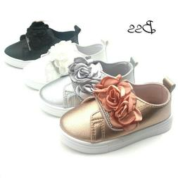 Infant Toddler Girls Adorable Sneakers Tennis Shoes Size 5-1