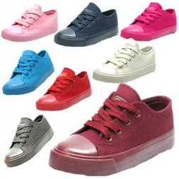 Toddler boys girls sneakers canvas tennis shoes 6-10 NEW